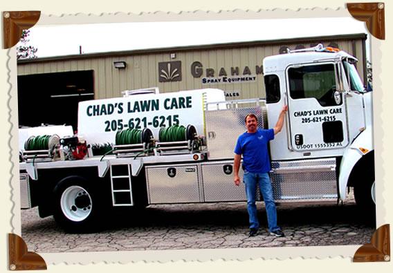 Chad's Lawn Care's GSE Spray Unit