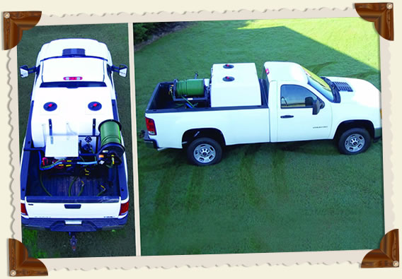 Graham 400-Gallon Pickup Spray Rig
