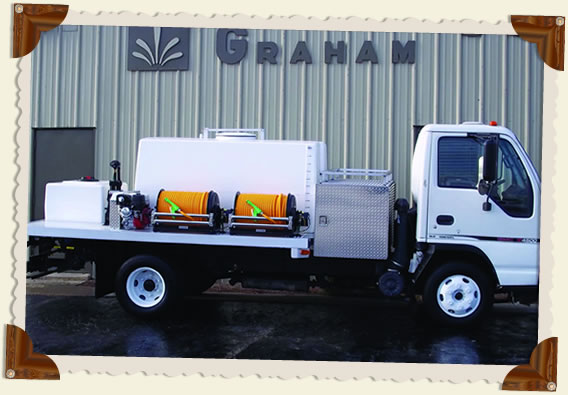 GSE 600+100 Spray Rig Truck