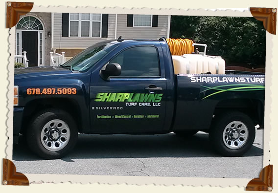 Sharp Lawn's GSE Spray Unit