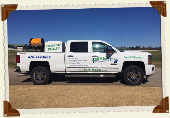 Turf Magic's GSE Spray Unit