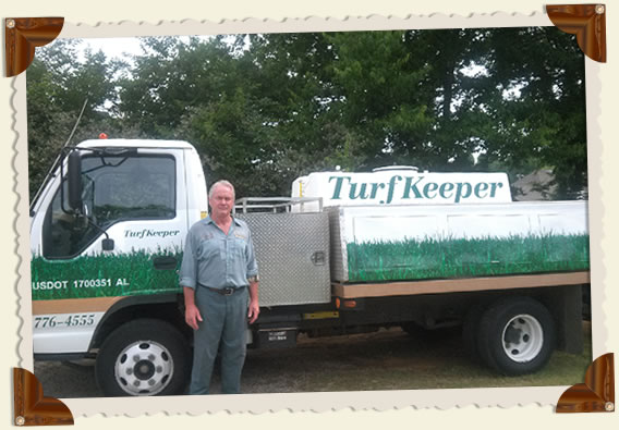 Turfkeeper Lawn Spray Eqipment
