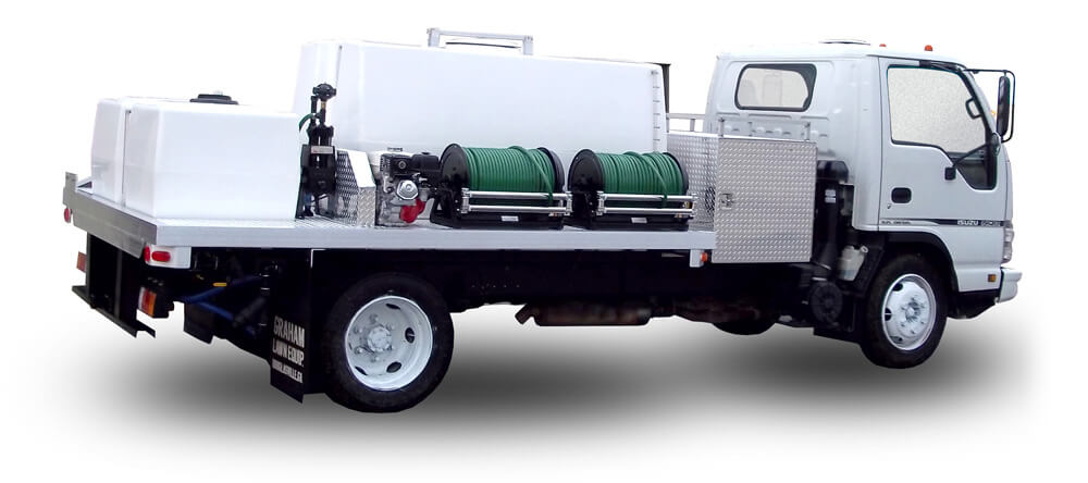 Graham Spray Equipment 600+200 Gallon Unit