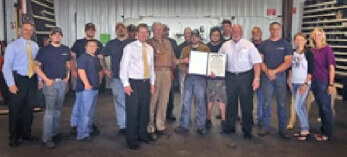 Graham Spray Equipment Recognized for Impact on Business Community, Economy