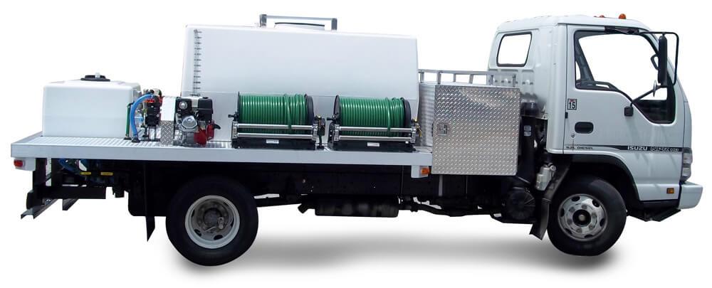Graham Spray Equipment 600+100 Gallon Unit