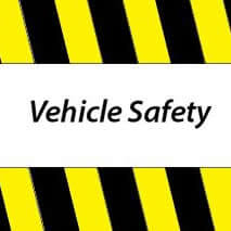 Vehicle safety banner