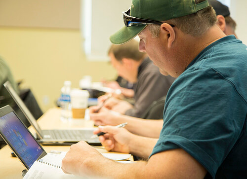 Employees computer training