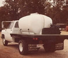 Image of older Graham spray rig