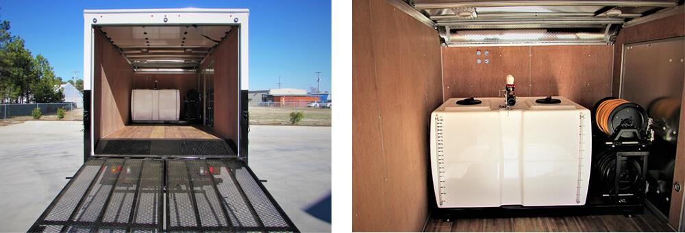 GSE Box Truck Interior Images