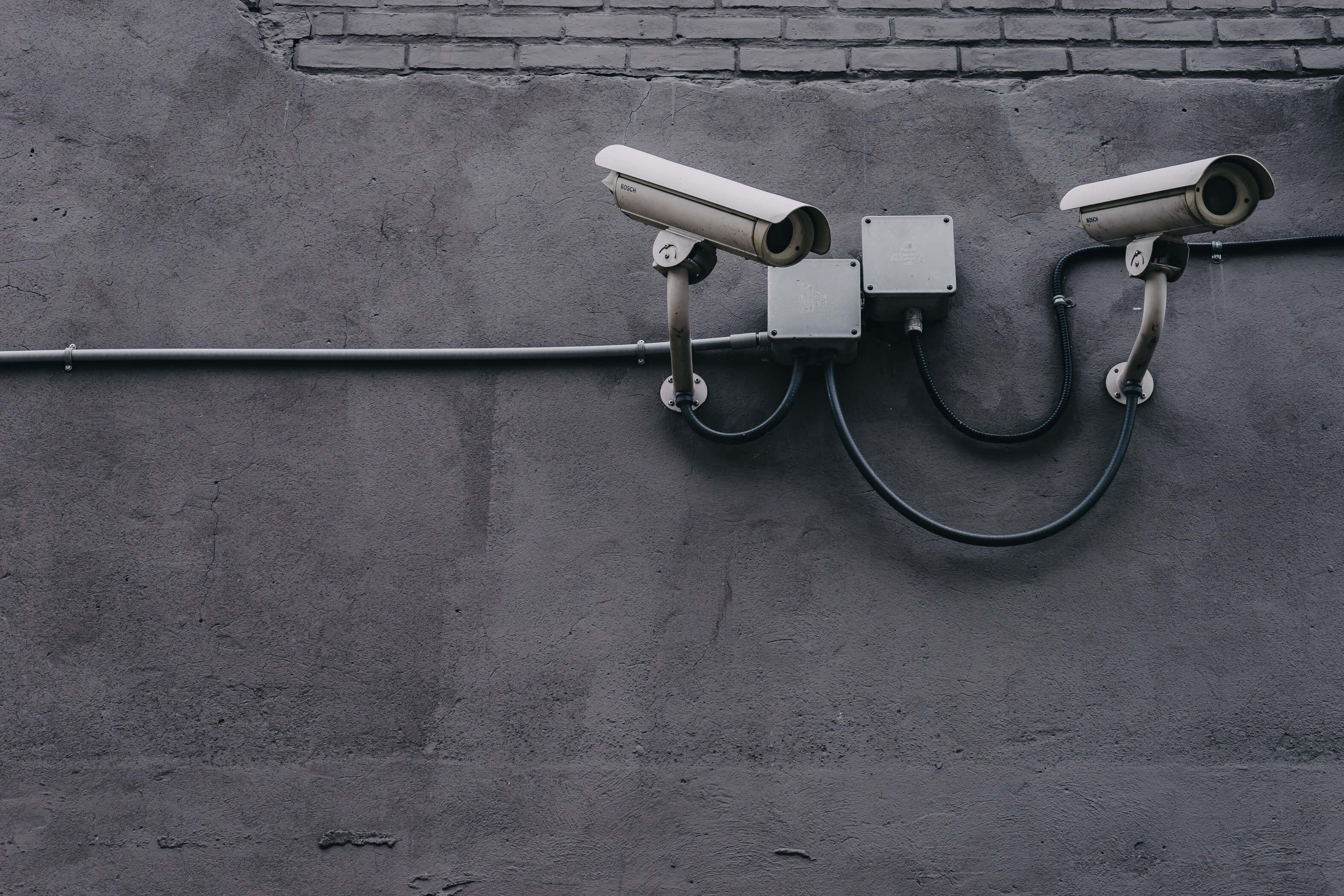 Cameras protecting lawn equipment