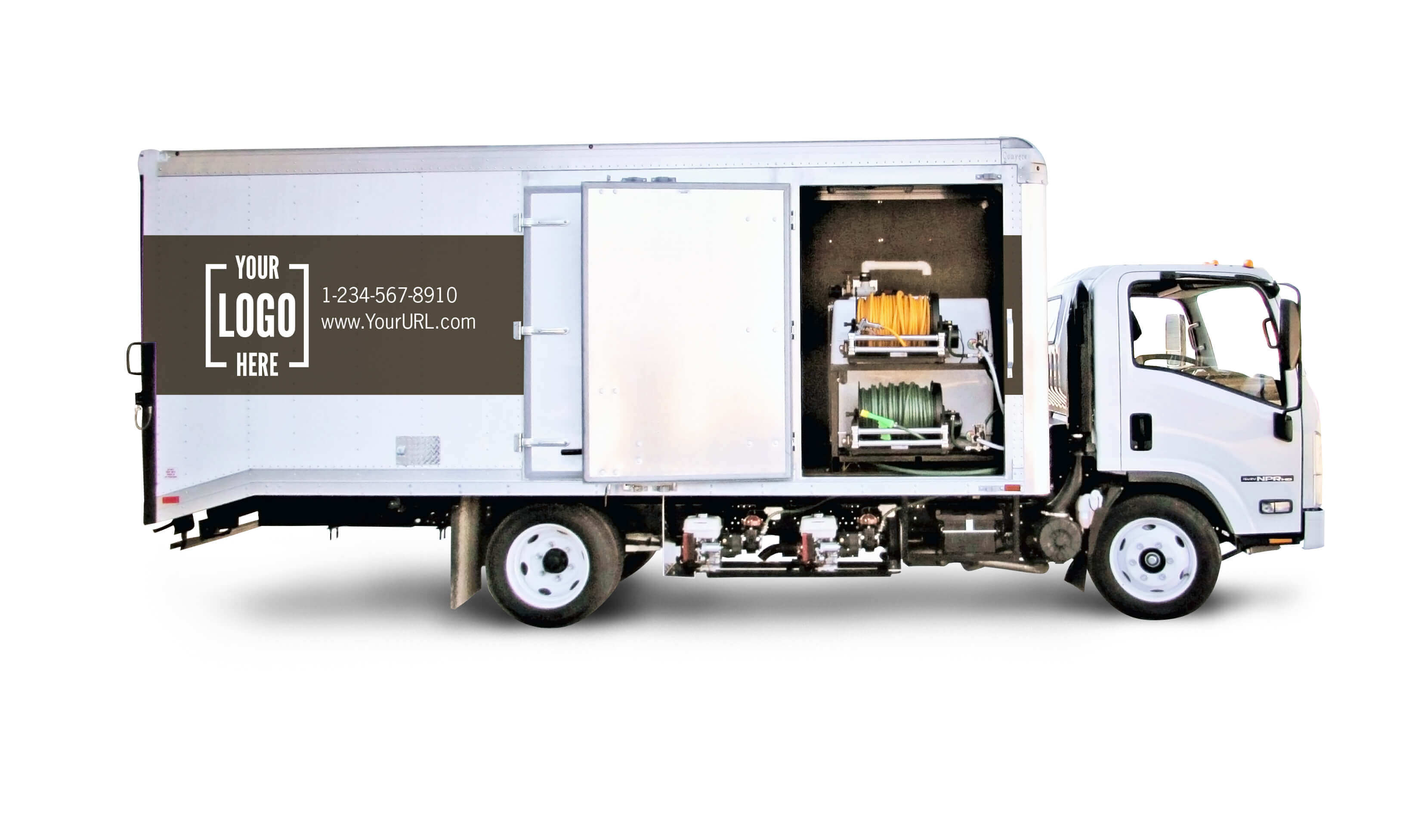 Graham box truck