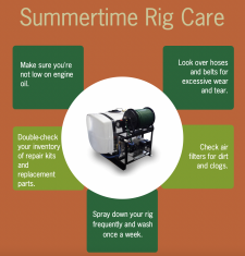 Summertime Rig Care
